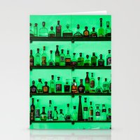 alcohol Stationery Cards featuring Alcohol Wall by Chee Sim