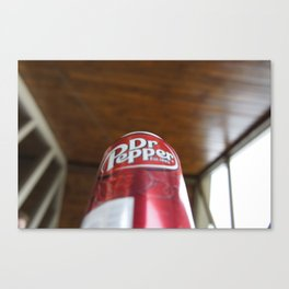 Mmmm....Dr. Pepper Canvas Print
