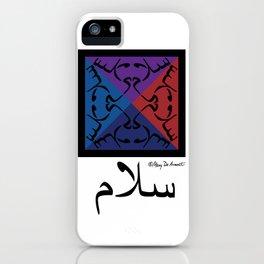 Arabic Peace iPhone Case