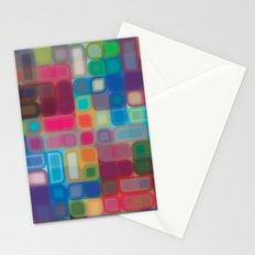 Square pattern Stationery Cards