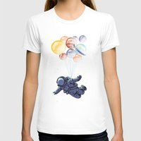 T-shirts featuring Space travel by carbine