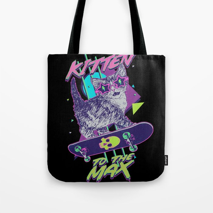Kitten To The Max Tote Bag