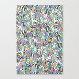 SUPATETRAL Canvas Print