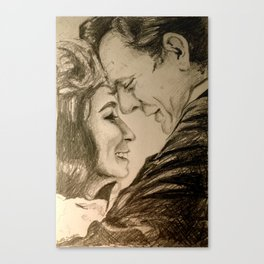 I Want To Love Like Johnny And June Canvas Print