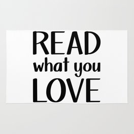 Read What You Love Rug