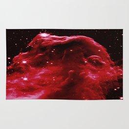 Red Horsehead NEbula Rug