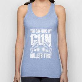 Bullet first Unisex Tank Top