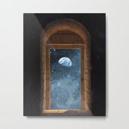 DOOR TO THE UNIVERSE Metal Print