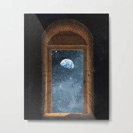 DOOR TO THE UNIVERSE Metal Print