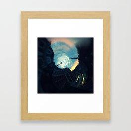 Grafton Warp Framed Art Print