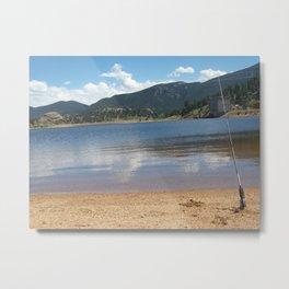 Mary's Lake Metal Print