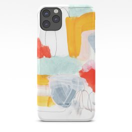 abstract painting XVI iPhone Case