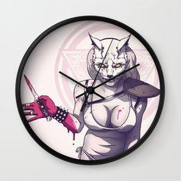 Raccoon Nook Wall Clock