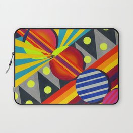 Cicles & Stripes Laptop Sleeve