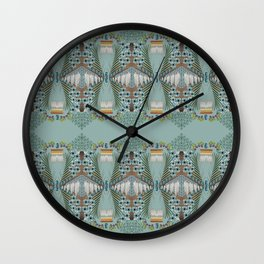 Visual Biography Wall Clock