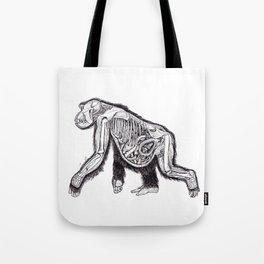 The Anatomy of a Pregnant Gorilla Tote Bag