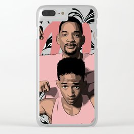 WILL SMITH x JADEN SMITH Clear iPhone Case