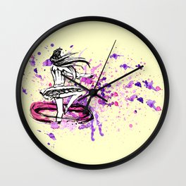 Ballet-dancer Wall Clock