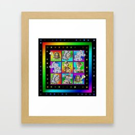 The Animal All Stars Framed Art Print
