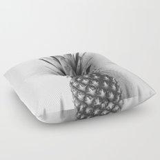 Black and white pineapple Floor Pillow