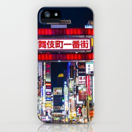 Shinjuku iPhone Case