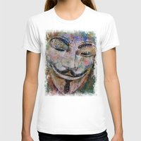anonymous T-shirts featuring Anonymous by Michael Creese
