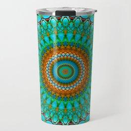 Geometric Mandala G388 Travel Mug