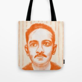 Portrait of Jibananda Das Tote Bag