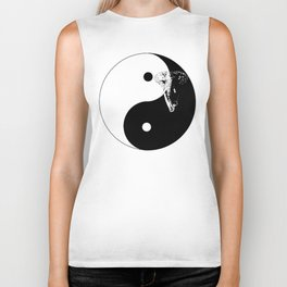 The YIN YANG ELEFANT - LIFE CURRENT series... Biker Tank