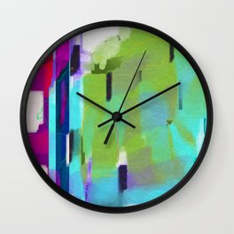 Charged Omnipresence Wall Clock