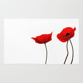 Simply poppies Rug