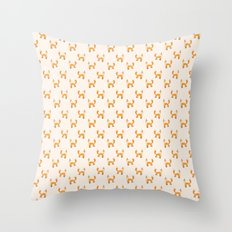 Monsieur Renard Throw Pillow