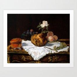 Édouard Manet The Brioche Art Print