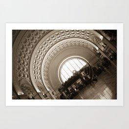 Union Station :: Washington, DC Art Print