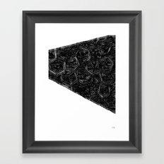 - monolith 5 - Framed Art Print