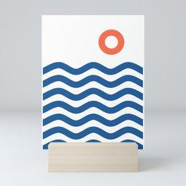 Nautical 02 Seascape Mini Art Print