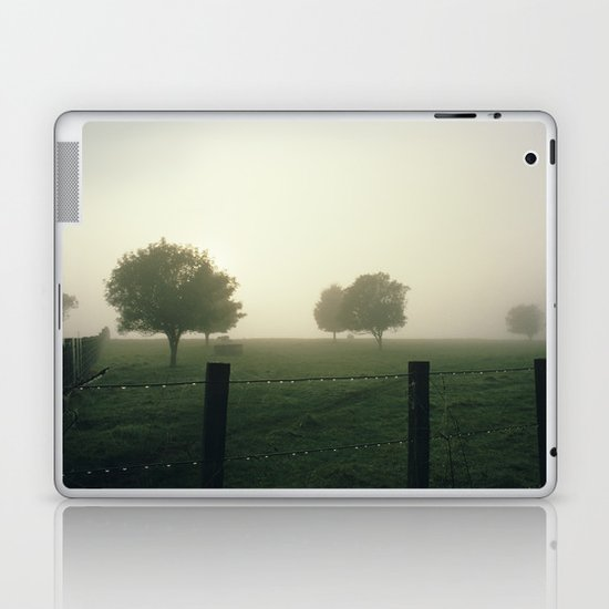 Misty Morning Laptop & iPad Skin
