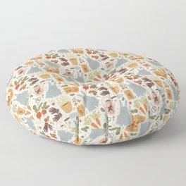 Gardening Things Floor Pillow