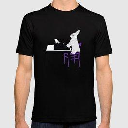 A Bunny's Life, animal gift, typing bunny, animal lover gift, bunny gift T-shirt