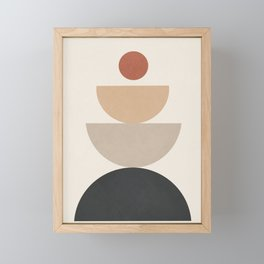 Geometric Modern Art 31 Framed Mini Art Print
