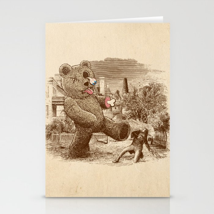 Teddy's Back! Stationery Cards