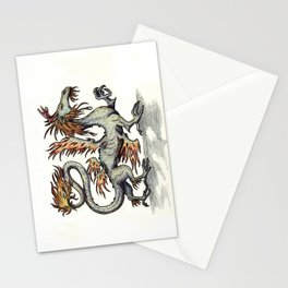 Draca ignis (clean version) Stationery Cards