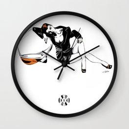 Passion Cognac - Les filles à boires Wall Clock