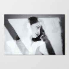 White Dress Series Canvas Print