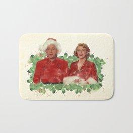 Bob & Betty (White Christmas) Bath Mat