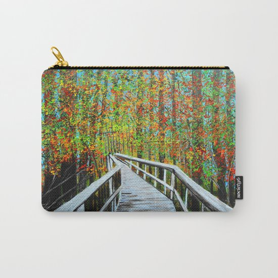 Walkway  in the woods  Carry-All Pouch