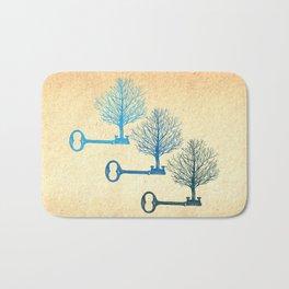 Tree Keys Bath Mat