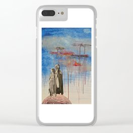 Weathering the Storm Clear iPhone Case
