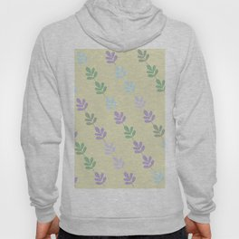 Flowers on Vine - Yellow Branches Hoody
