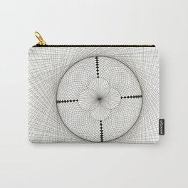 Fabric Circle Carry-All Pouch